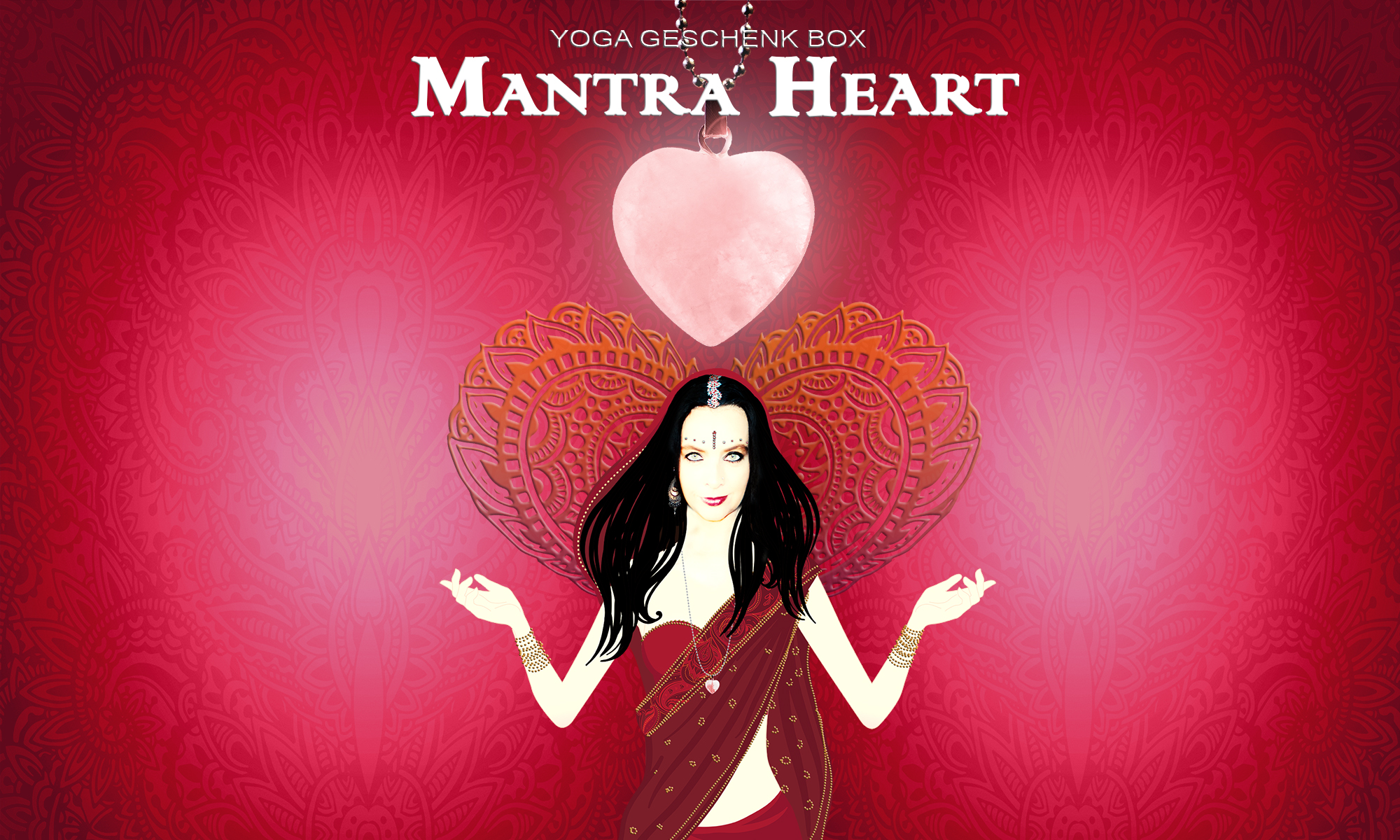 Mantra Heart Yoga Geschenk Box