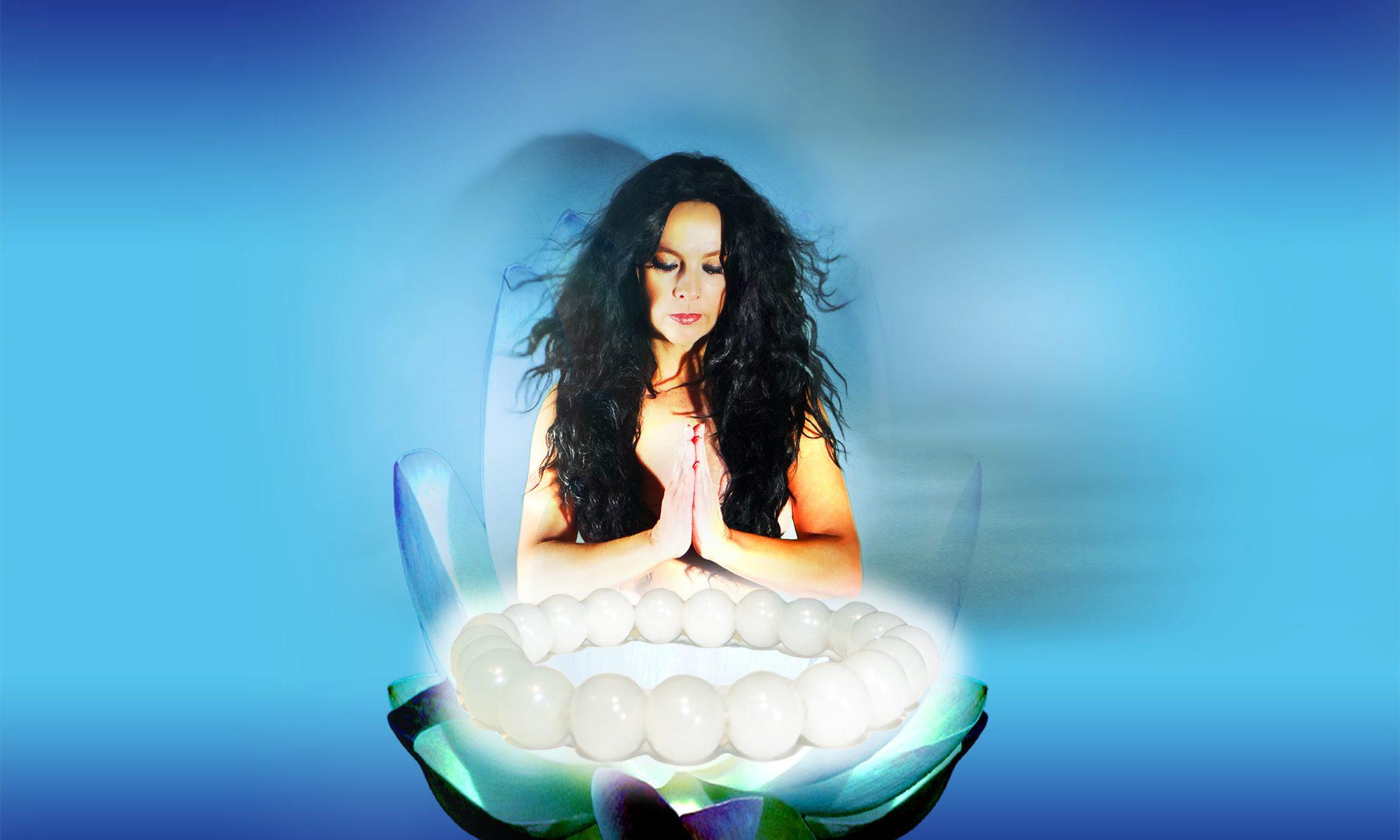Yoga Geschenkset mit Schmuck + Yoga CD