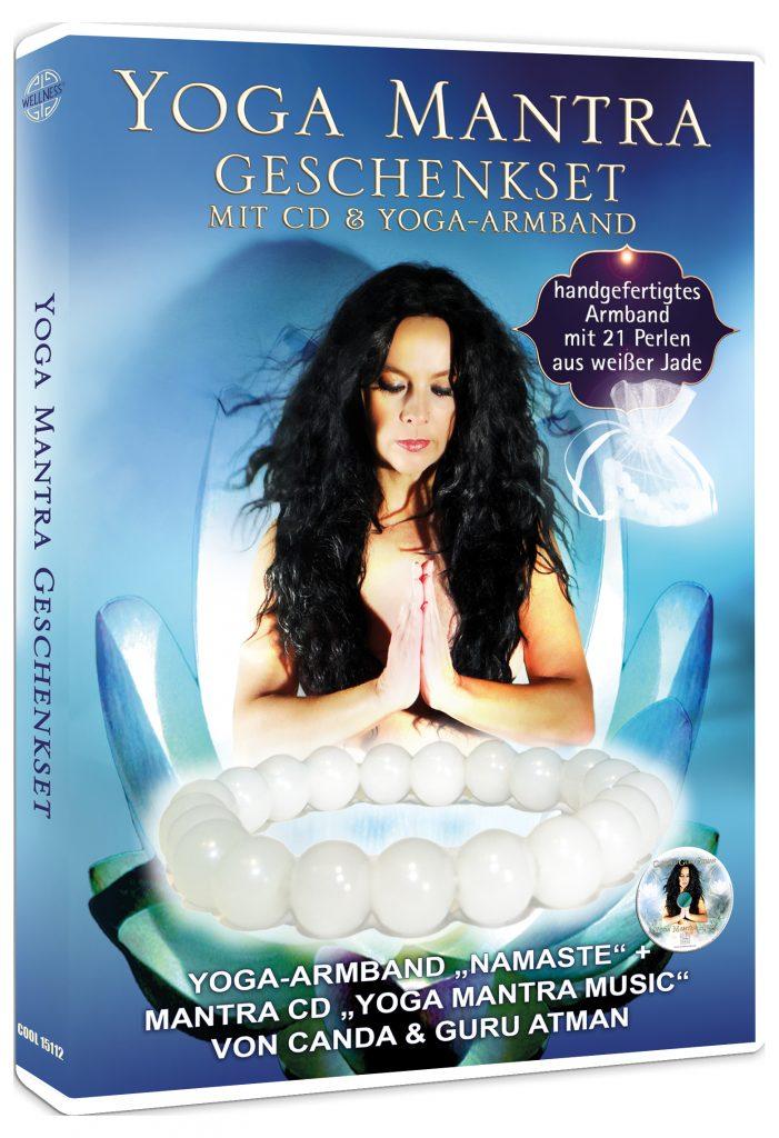 Yoga Mantra Geschenkset mit CD & Yoga-Armband